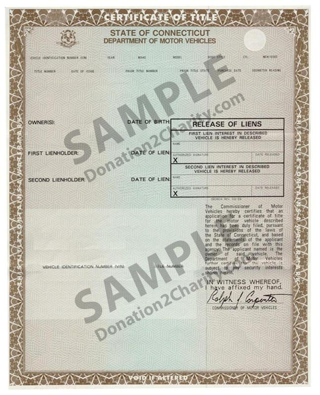 Connecticut Form Page 1