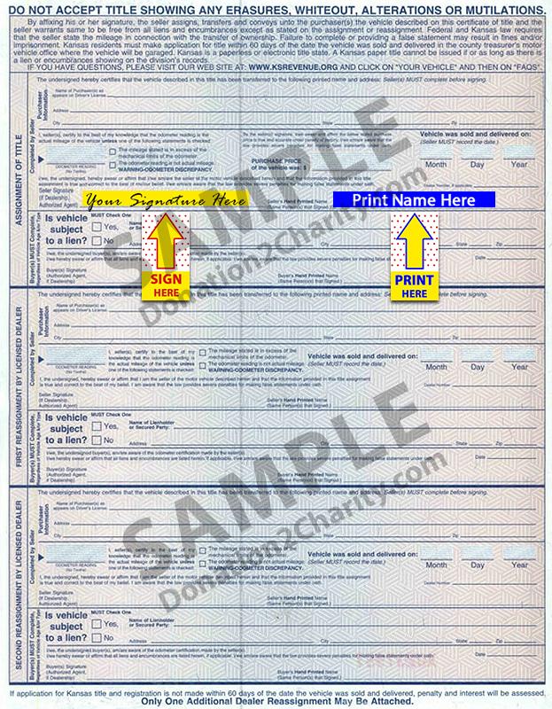 Kansas Form Page 2