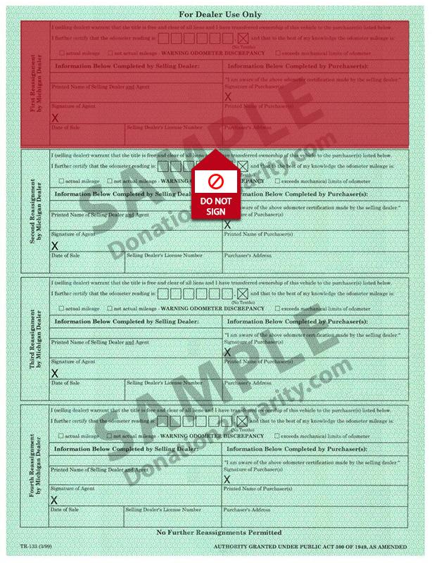 Michigan Form Page 2