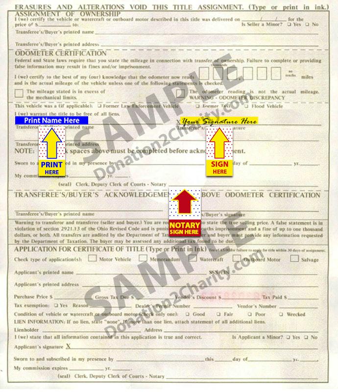 Ohio Form Page 2