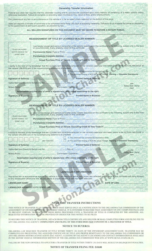 Oklahoma Form Page 2