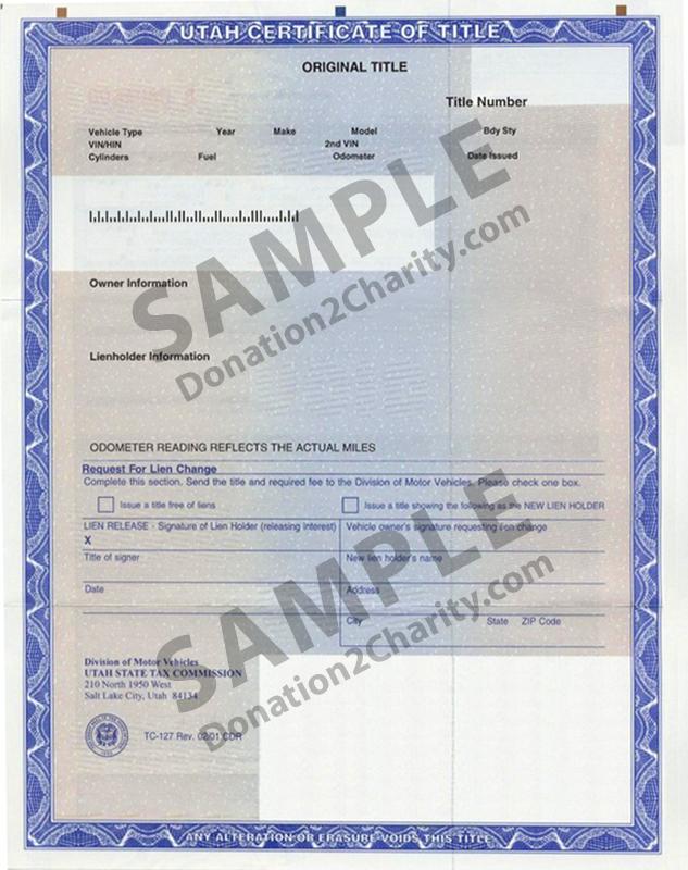 Utah Form Page 1